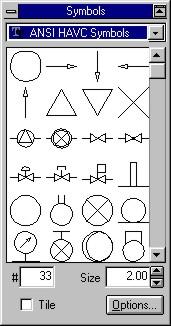 hvac symbols.